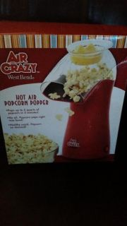 New / Red / Air Crazy Popcorn Popper