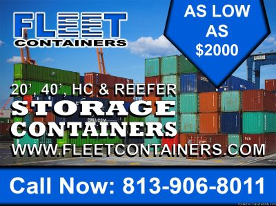 SHIPPING CONTAINER All types of CONTAINERS available!