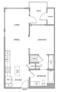 $8280 1 apartment in Mountain View