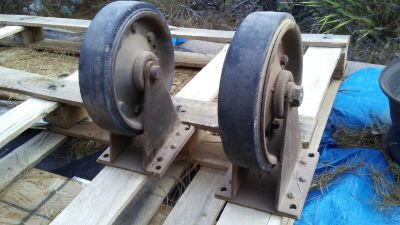 "Wheels 8"" diameter (4)"