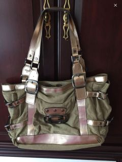 Mint Condition Army green Tote Large Size~ Price is Firm