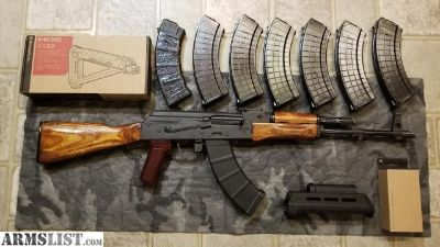 For Trade: Romanian SAR 1 AK with extra furniture and 8 mags