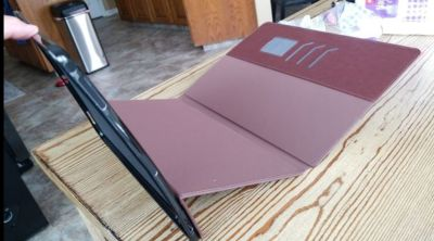 """Leather 12.9"""" ipad pro 1st/2nd gen cover-new"""
