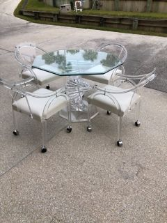 High quality heavy Acrylic furniture