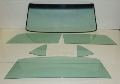 Sell 1969 MUSTANG EARLY HARDTOP NEW WINDSHIELD DOOR QUARTER & BACK GLASS GREEN TINT motorcycle in Isanti, Minnesota, United States, for US $499.00