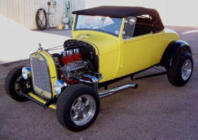 1929 FORD MODEL A ROADSTER STREET ROD FOR SALE