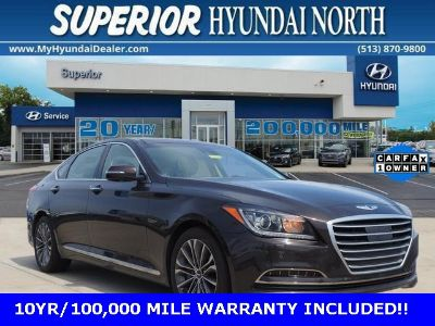 2015 Hyundai Genesis 3.8L (Manhattan Brown)