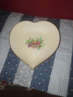 Heart plate great to drop your jewelry in at the end of the day