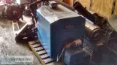 Buderus boiler with riello burner
