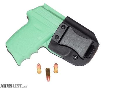 For Sale: Aggressive Concealment CPX2IWBLP IWB Kydex Holster SCCY CPX-2