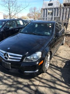 2012 Mercedes-Benz C-Class C300 4MATIC Luxury (Black)
