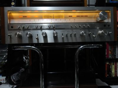 VINTAGE COLLECTIBLE PIONEER SX-1250 MUSCLE RECEIVER EXCELLENT CONDITION