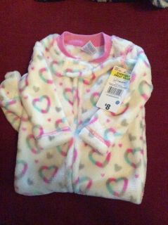 NWT infant girls all in one sleeper 3-6 months