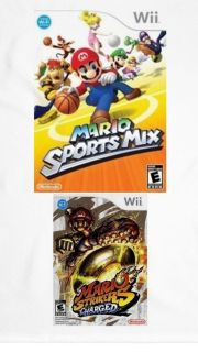 Wii Striker Charged $10 Wii Mario Sports mix $10each I meet Snow and Airport Winn Dixie