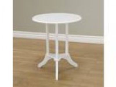 Frenchi Home Furnishing Round End Table White