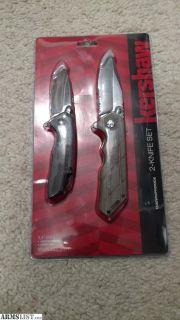 For Sale: Kershaw, 2 knife set
