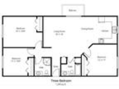 Woodland Park Apartments - 3 BR C