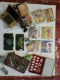 Special Edition 3DS Legend Of Zelda- Bundled
