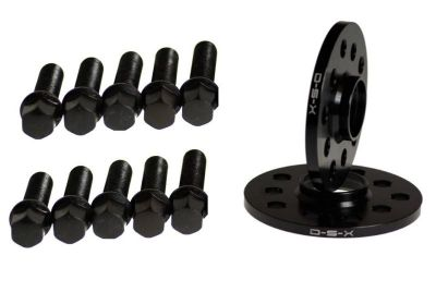 Sell VW 12MM BLACK Wheel Spacers 5x100 5x112 SET + CONICAL SEAT BOLTS - JETTA GOLF motorcycle in Watertown, Massachusetts, US, for US $60.99
