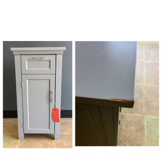 Better homes 1 drawer and 1 door end table