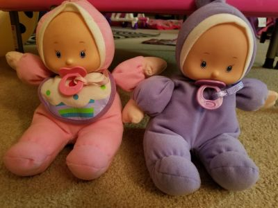 Two dolls pacifier can come out $2 each