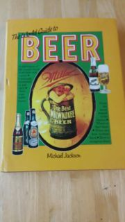 Hardcover World Guide to Beer