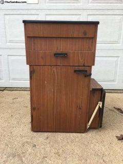74-75 Westy Cabinet Ice Box Fridge