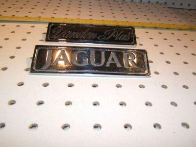Buy Jaguar 1973 XJ12 S1 Vanden Plas rear heavy metal OEM 2 emblems, 1 set of 2,T #1 motorcycle in Rocklin, California, United States, for US $120.00