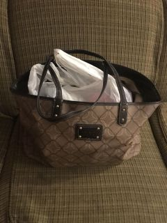 Nine West bag with size 8.5 shoes (dressy)