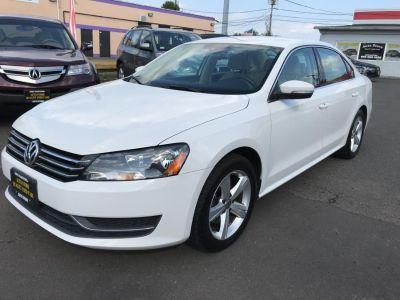 2014 Volkswagen Passat SE PZEV (Candy White)