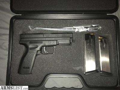 For Sale: Springfield XD service model