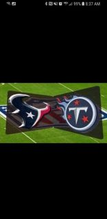 Texans vs Titans MNF and yellow lot parking pass