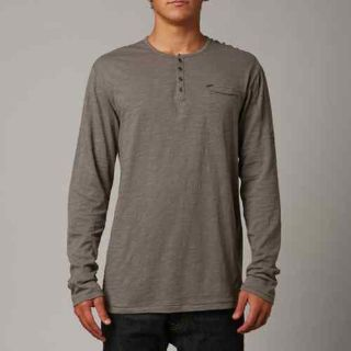 Buy Fox Racing Cadmus Mens Long Sleeve Knit Shirt Graphite/Gray motorcycle in Holland, Michigan, US, for US $43.11