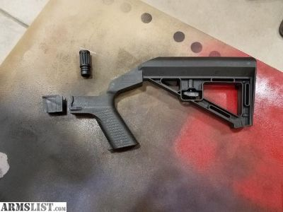 For Sale: Slide fire bump stock and recoil maximizer for M&P 15-22