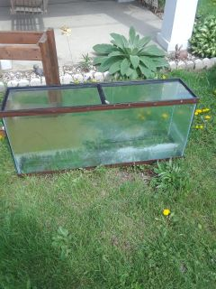 Fish tank or reptile tank just needs cleaned