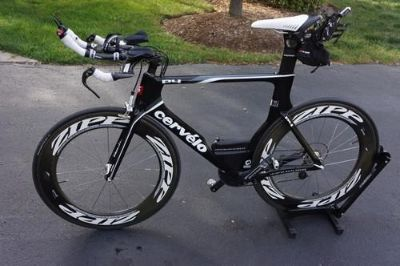 2011 Cervelo P4 Triathlon Bike with Zipp 808s SRAM Red xLab and More