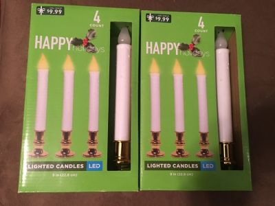 LED Lighted Candle Sticks NEW