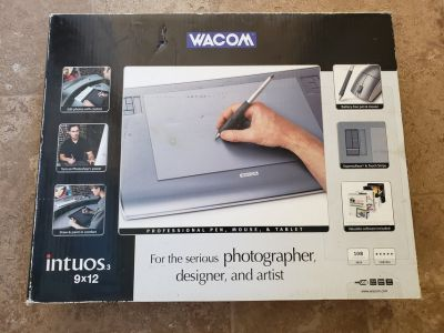 Wacom tablet
