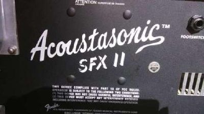 REDUCED! Now only $325! Fender Acoustasonic SFX II