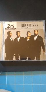CD. Boys II Men, the Millennium Collection