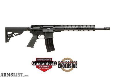 For Sale: Diamondback Firearms DB15MZB Davidsons Exclusive DBF DB15 223 RFL 16B 30R 12ML A2 Style Pistol Grip, 6-Position ATI Mil-Spec