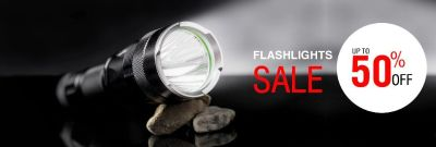 Buy camping flashlights on up-to 50% off