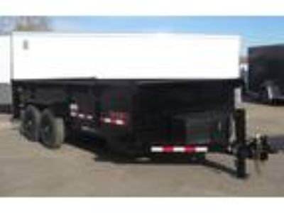 2019 Midsota Midsota 16' Dump Trailer - Black