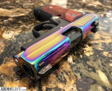 For Sale/Trade: Sig Sauer P238 Rainbow Titanium