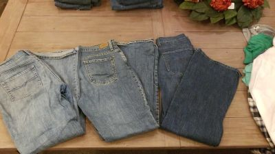 3 Pairs BootCut Jeans - Size 10 short