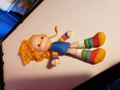 Vintage rainbow bright doll