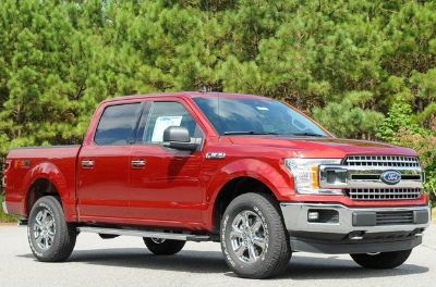 2019 Ford F-150 King Ranch (Ruby Red Metallic)