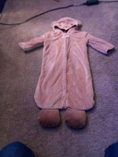 Woodchuck fuzzy suit