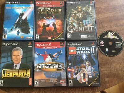 7 Play Station Games