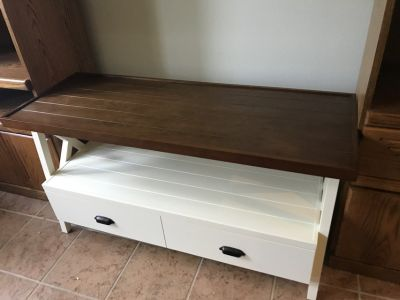 Wood TV stand/ table